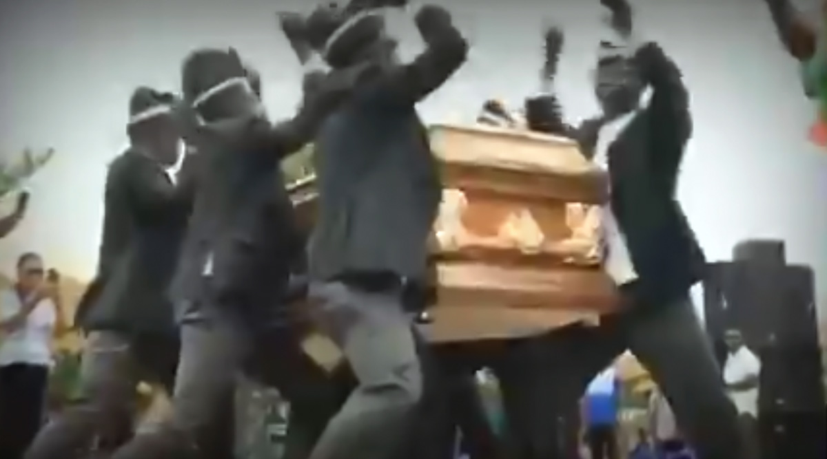 Funeral Coffin Dance Video Funny Memes Go Viral: Netizens Post Hilarious Jokes on Ghana's Dancing Pallbearers To Keep Themselves Amused During Quarantine!