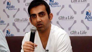 IPL 2020 is Going to Change the Mood of the Nation Amid Coronavirus Pandemic, Says Gautam Gambhir