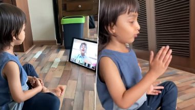 Genelia D'souza Shares How Her Child Is Adapting To The Concept of Distance Learning Amid Lockdown (Watch Video)