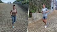 Cristiano Ronaldo Shares Video of Him and Girlfriend Georgina Rodriguez Exercising Together During Lockdown