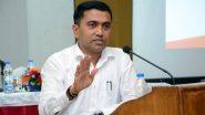COVID-19 Test Mandatory for Stranded Citizens Returning to Goa, No Home Quarantine Option: CM Pramod Sawant