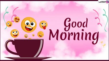 Good Morning Quotes Wishes Funny Hd Images Send New Good Morning Messages Gif Greetings And Whatsapp Stickers To Family And Friends Latestly