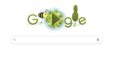 Earth Day 2020 Google Doodle: Search Engine Giant Highlights Importance of Bees to The Planet With an Intriguing Doodle!
