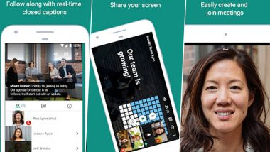 Google Meet Now Available on Android & iOS Smartphones