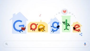 Coronavirus Tips Google Doodle: Search Engine Urges People to 'Stay Home, Save Lives'