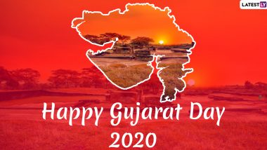 Gujarat Day 2020 Wishes & HD Images For Free Download Online: WhatsApp Stickers, GIF Greetings and Messages to Celebrate The Formation of Gujarat