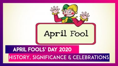 April Fools' Day 2020 - History, Significance & Celebrations Of Fools' Day On April 1 Every Year!
