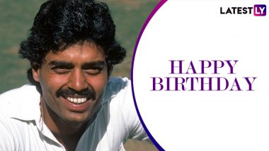 Dilip Vengsarkar Birthday Special: 126 Against England and Other Memorable Knocks by the 'Colonel'