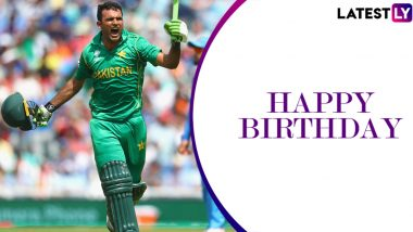 Fakhar Zaman Birthday Special: 114 vs India in 2017 Champions Trophy Final and Other Remarkable Knocks by the Swashbuckling Pakistani Opener