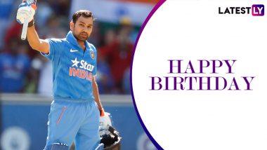 Rohit Sharma Birthday Special: 264 vs Sri Lanka and Other Scintillating Knocks by the Hitman