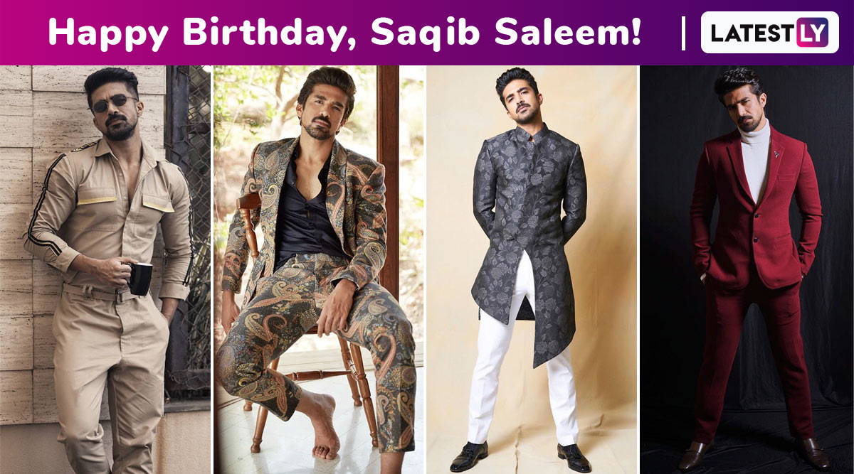 Happy Birthday, Saqib Saleem! Silent but Fashion Conscious, His Choice for Classics and Unconventional Make Him Dandy, Dapper and Delightful!