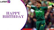 Happy Birthday Shaheen Afridi: Twitterati Wishes Pakistan's Young Pace Ace As He Turns 20