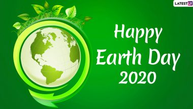 Earth Day Images & HD Wallpapers For Free Download Online: Wish Happy Earth Day 2020 With WhatsApp Stickers, GIF Greetings and Messages