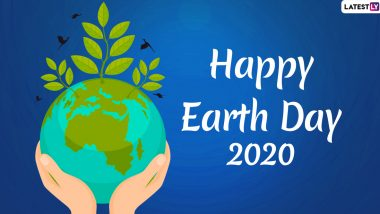 Earth Day 2020 Messages & HD Images: WhatsApp Stickers, GIFs, Facebook Greetings, Quotes and Photos to Raise Awareness on Saving The Earth