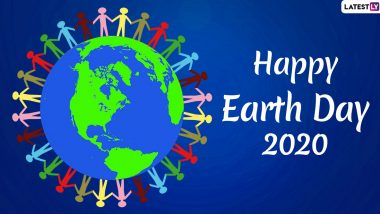 Happy Earth Day 2020 HD Images and Greetings: International Mother Earth Day WhatsApp Stickers, SMS, Messages and Wishes to Send on April 22