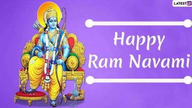 Ram Navami 2020 Wishes Take Over Internet: Netizens Share Lord Rama Photos, GIF Images, Messages and Greetings to Wish Everyone on This Auspicious Day