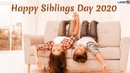 National Siblings Day 2020: Date, Significance and Celebrations Related to The Day Dedicated to Brothers and Sisters
