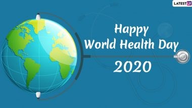 World Health Day Images & HD Wallpapers For Free Download Online: Wish Happy World Health Day 2020 With WhatsApp Stickers and GIF Greetings
