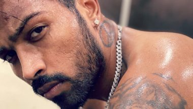 Hardik Pandya Shares Glimpse of His 'Tiger Tattoo' and Adds Intriguing Caption to His Photo, Fiancee Natasa Stankovic Reacts