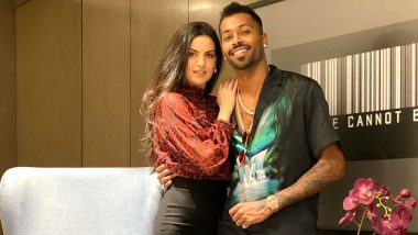 Hardik Pandya Shares Adorable Video of Fiancee Natasa Stankovic Trying to Speak Hindi, Her Answer Will Win Your Heart!