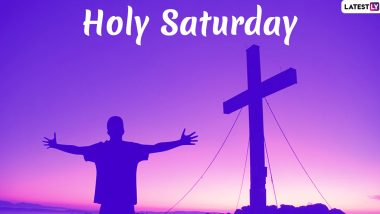 Holy Saturday 2020: Twitterati Share Messages, Quotes, Thoughts And Photos of Jesus Christ On The Last Day of Holy Week