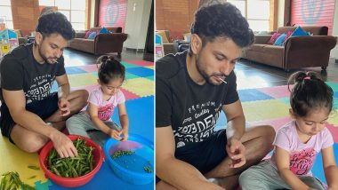 Soha Ali Khan's Little Daughter Inaaya Is a Junior Masterchef in the Making and Here's Proof (View Pic)