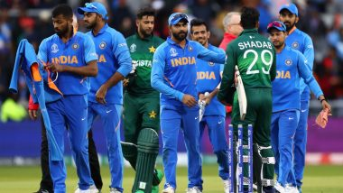 ICC T20 World Cup 2021: India To Face Pakistan On October 24 in Dubai