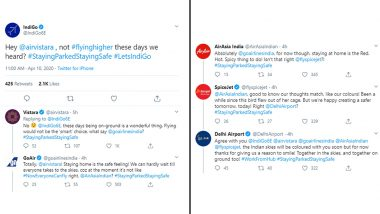IndiGo, Vistara, GoAir, AirAsia, SpiceJet Twitter Exchange on Staying Parked, Staying Safe is Best Example of Co-Branding!