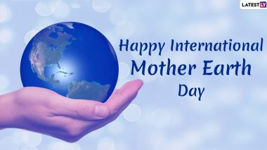 International Mother Earth Day 2020 HD Images & Wallpapers For Free Download Online: Wish Happy Earth Day With WhatsApp Messages And Facebook Greetings