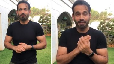 Irfan Pathan Urges People to Offer Prayers at Home and Not Visit Mosques Amid Lockdown, 'Turn Your Homes Into Place of Worship,' Says Former Indian Star in Video Message