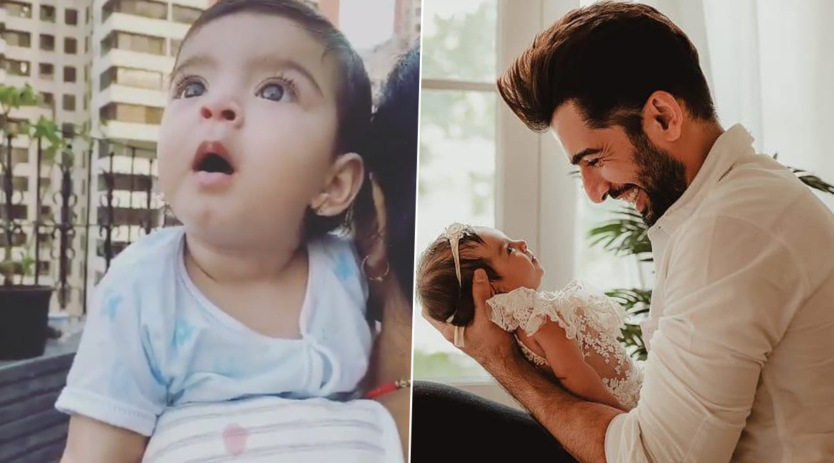 Jay Bhanushali Gets Emotional After Daughter Tara Chants 'Papa', Says He Was Waiting For It For Long (Watch Video)