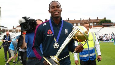 Jofra Archer Finds Missing 2019 Cricket World Cup Winner's Medal in Guest Bedroom
