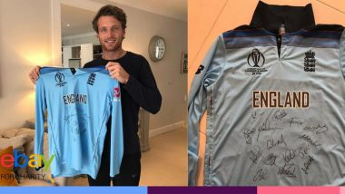Jos Buttler's 2019 Cricket World Cup Final Shirt Raises Over 80,000 US Dollars From Auction, Amount to Help in Fight Against Coronavirus