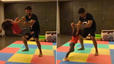 Kunal Kemmu Is Having A 'Flipping' Weekend With Inaaya (Watch Video)