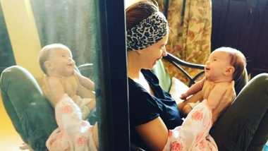 Guy Hershberg Captures Candid Moment of Kalki Koechlin and Their Daughter Sappho (View Pic)