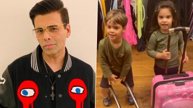 Karan Johar Announces the End of Season One of #LockdownWithTheJohars As His Kids Yash and Roohi Are 'Fed Up' and Want to Leave the House (Watch Video)