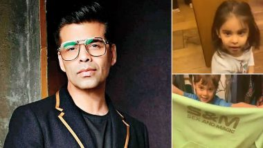 Karan Johar is Embarrassed During Lockdown As Yash and Roohi Put His 'S*x and Magic' on Display (Watch Video)