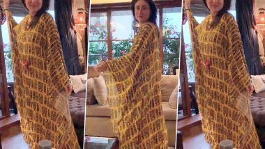 Kareena Kapoor Khan Is Staying at Home Look Oh-So-Glamorous While Twirling in a Kaftan Tunic!