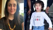 Kareena Kapoor Khan Happily Flaunts the Handmade Pasta Necklace Made By Taimur (View Pic)