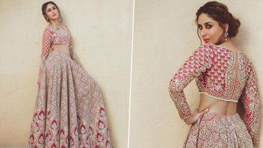 Kareena Kapoor Khan As the Faraz Manan Bridal Muse Is Gleaming, Gorgeous and Glorious!