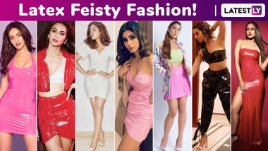 When Shraddha Kapoor, Bhumi Pednekar, Ananya Panday, Kriti Kharbanda, Sonakshi Sinha Revamped Latex Fetish Into Feisty Fashion!
