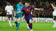 This Day, That Year: Lionel Messi Scores Four Past Arsenal in UEFA Champions League