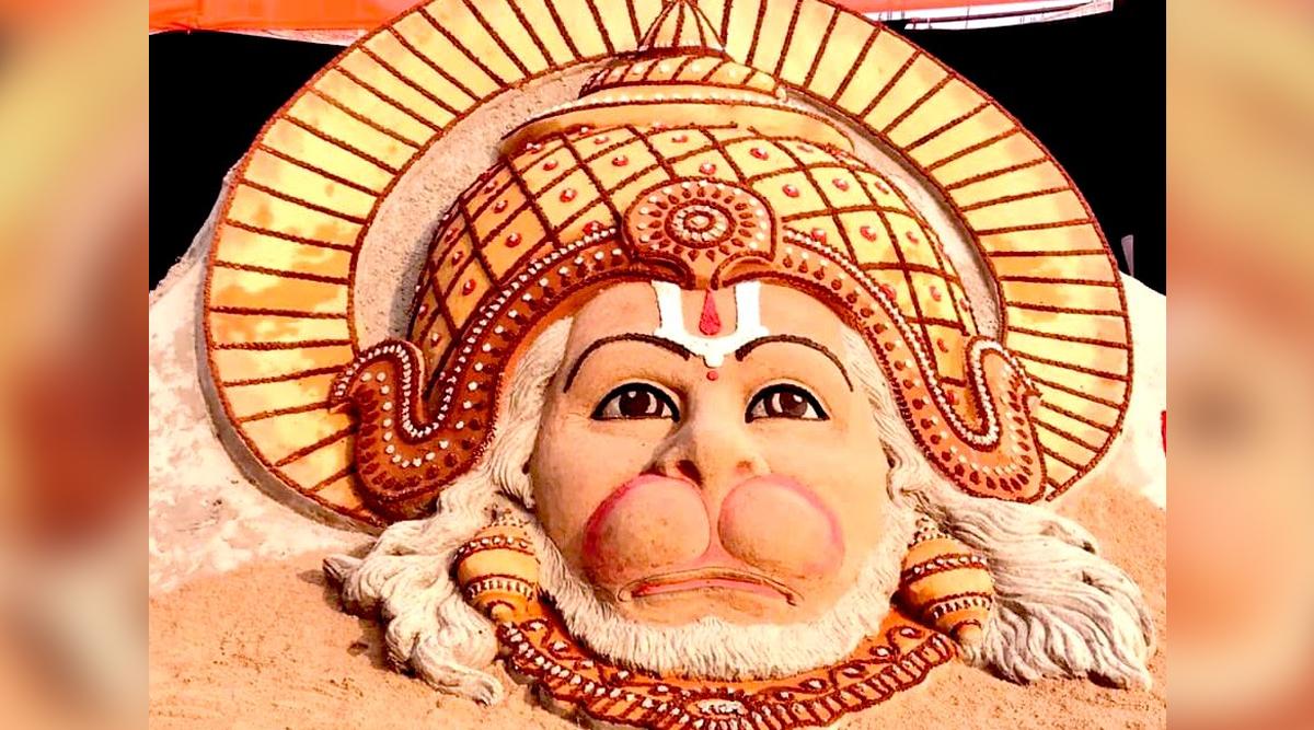 Hanuman Jayanti 2020: Sudarsan Pattnaik Shares Lord Hanuman Sand Art, Twitterati Post 'Jai Bajrangbali' Wishes