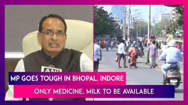 Madhya Pradesh Govt Goes For Tougher Lockdown In Bhopal, Indore; Only Medicine, Milk To Be Available