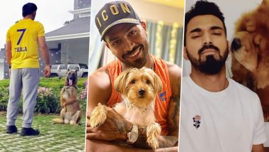 From MS Dhoni to Hardik Pandya and KL Rahul, 5 Star Cricketers Who Also Happen to Be Most Amazing Dog Parents!