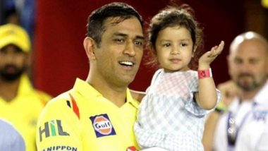 HORRIFIC! Ziva Dhoni, 5-Year-Old Daughter of MS Dhoni Receives Rape Threats Following CSK's Defeat to KKR in IPL 2020