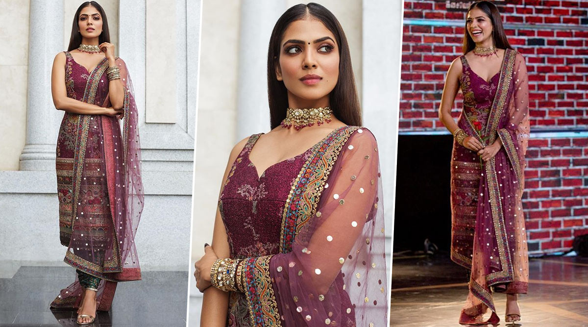 Malavika Mohanan in Sabyasachi Is Ethnic Checkmate at Every Level!