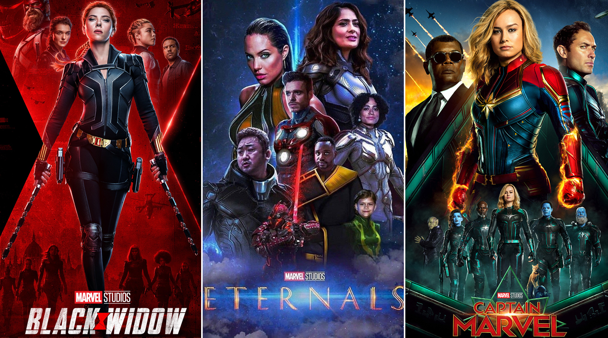 Marvel Phase 4: Black Widow, The Eternals, Captain Marvel 2 – Here Are the New Release Dates of MCU Movies Set to Be Released from 2020 Through 2022!