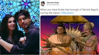 25 Masakali 2.0 Song Funny Memes and Tweets Will Make Sidharth Malhotra and Tara Sutaria Regret Featuring in This Recreation of AR Rahman's Iconic Delhi-6 Song!