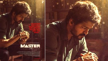On Master's Release Date, Makers of Thalapathy Vijay Release a New Poster; Fans Share How They Miss Celebrating #MasterFDFS Due To Coronavirus Lockdown